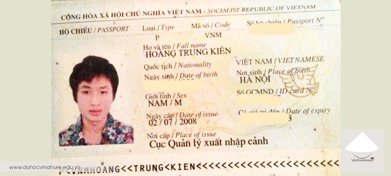 Tin visa: Vinahure chúc mừng bạn Hoàng Trung Kiên nhận được thư mời học của SMEAG